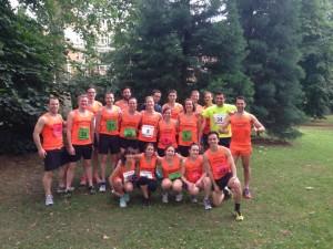 Pioneers 1 Mile Relay 2014